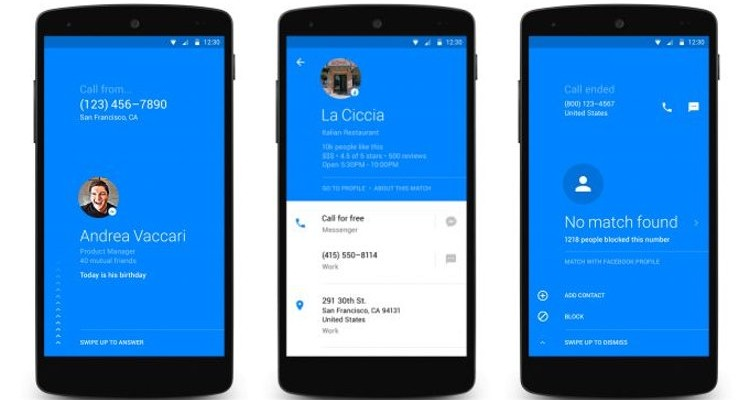 Facebook Hello Dialer - Android