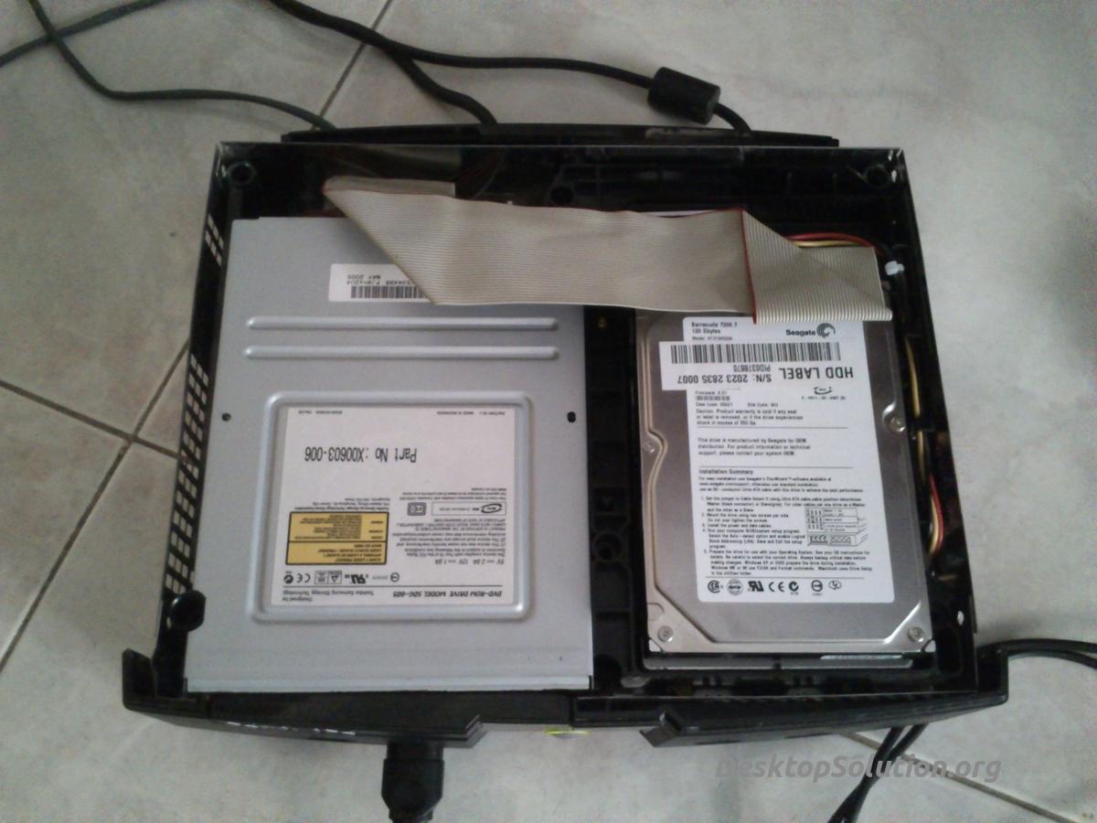 Hard Disk mod su XBOX 1