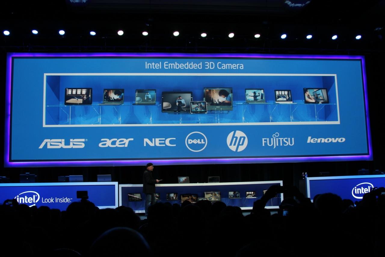 Intel 3d camera presentazione
