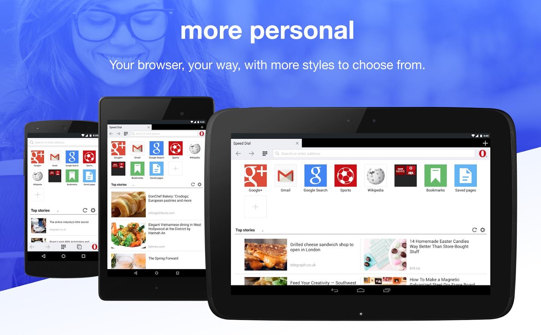 Opera Browser - Mobile