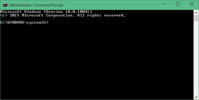Prompt dei Comandi - Amministratore - Windows 10