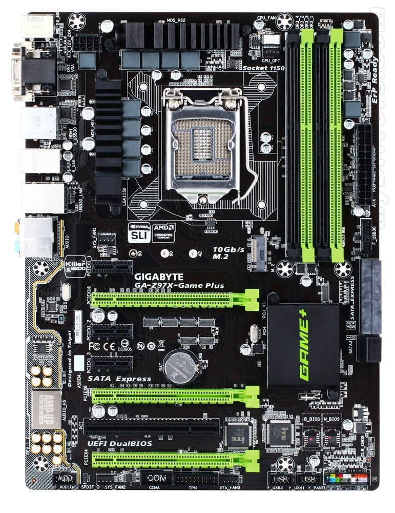 Gigabyte - Z97X Game Plus