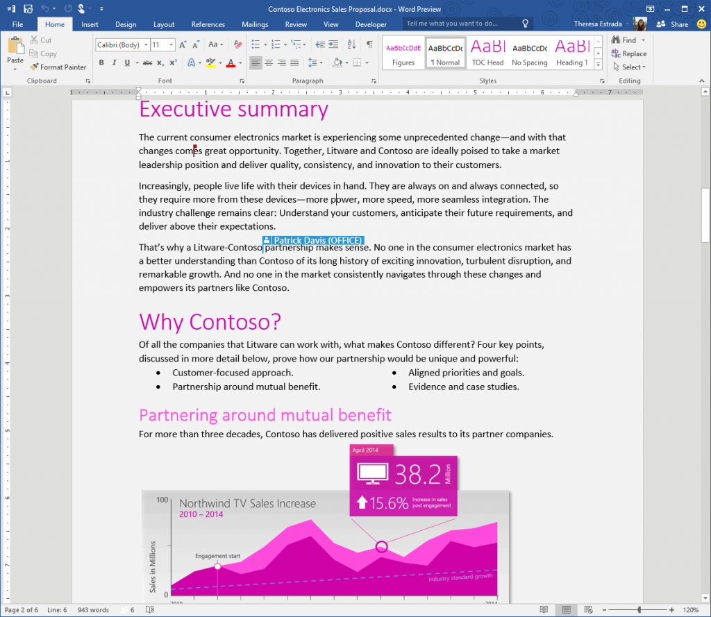Office 2016 - Screen1