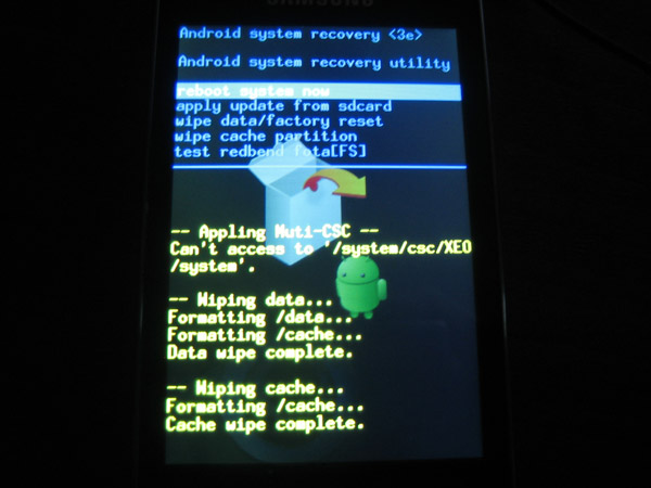Recovery Samsung Android