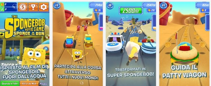 Spongebob - La Grande Corsa - Screen