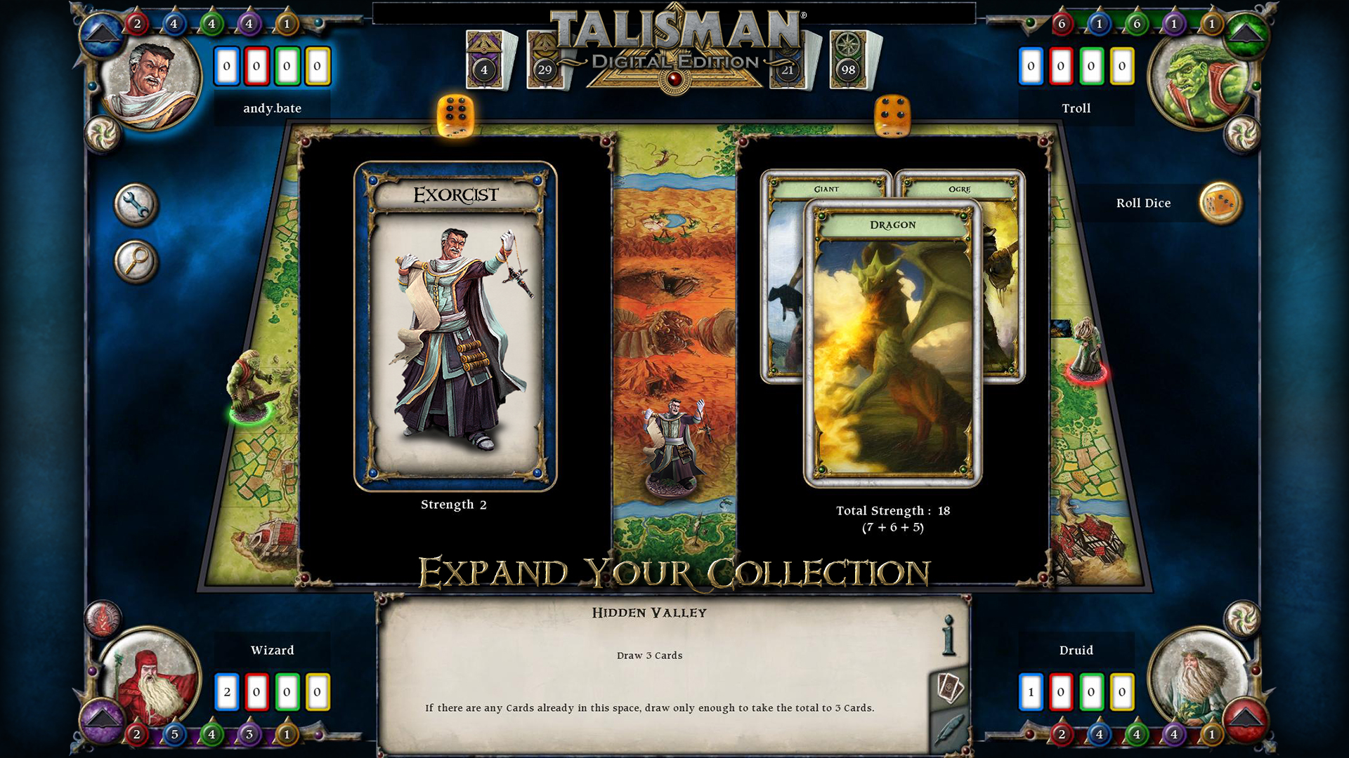 Talisman - Screen