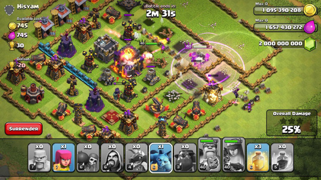 Clash of Clans gems mod