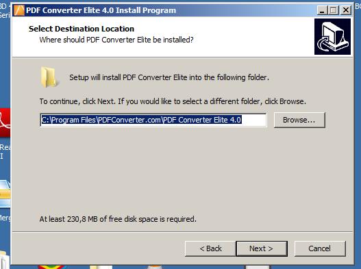 Installazione PDF Converter Elite 4