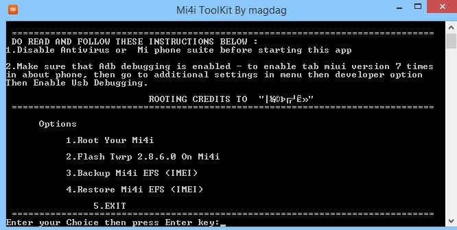 Mi4i Toolkit