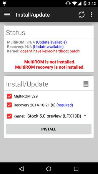 MultiROM app