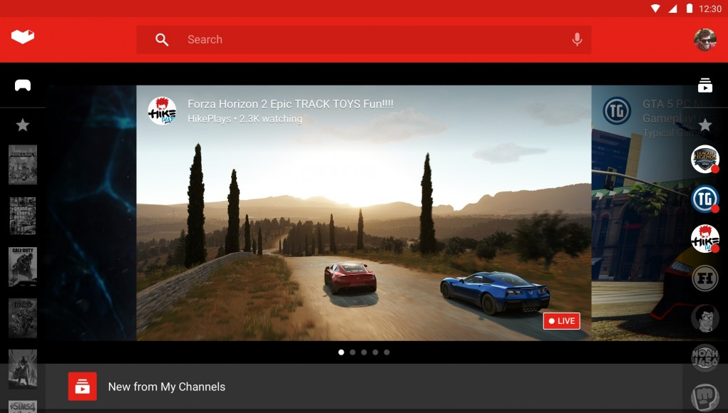 YouTube Gaming - Screen 2
