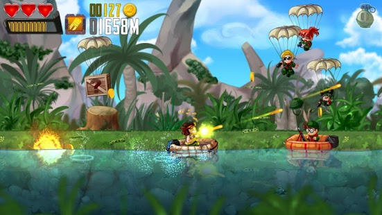 Ramboat - Shooter Heroes - Screen1