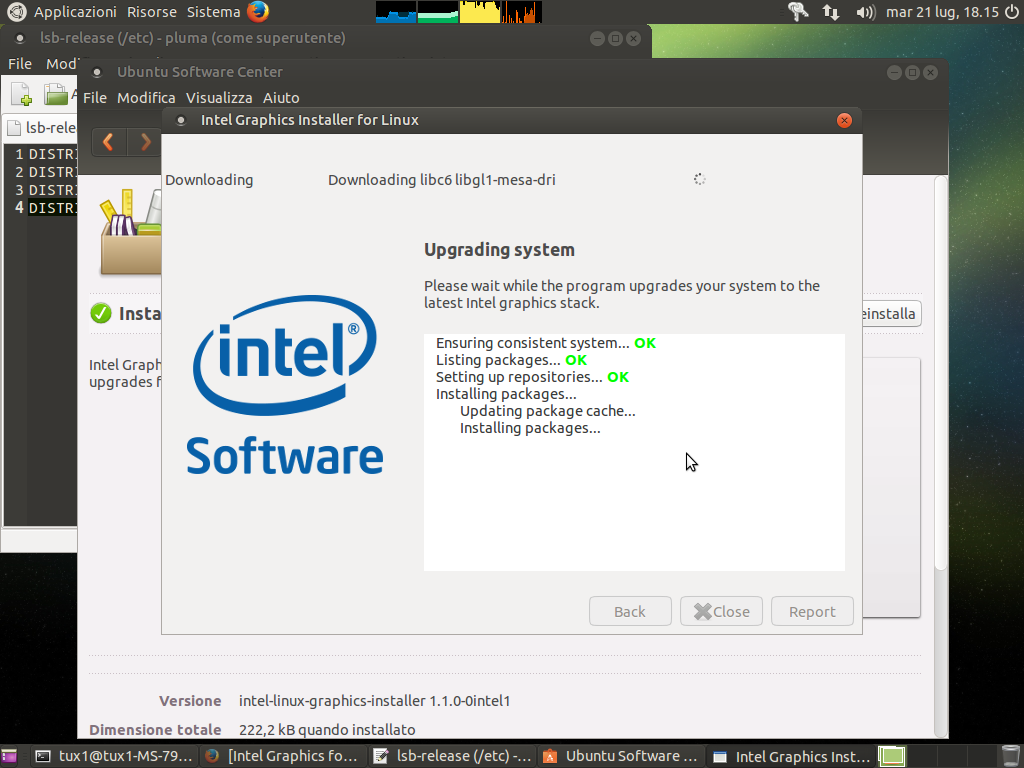 intel linux graphics installer ubuntu mate 14.04.02 lts