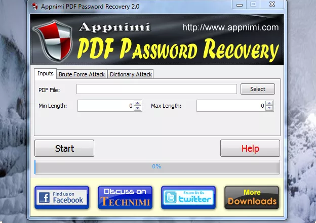 Appnimi PDF password Recovery