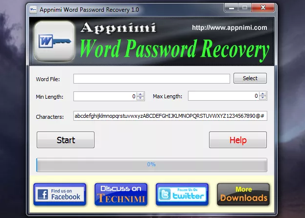 Appnimi Word Password Recovery
