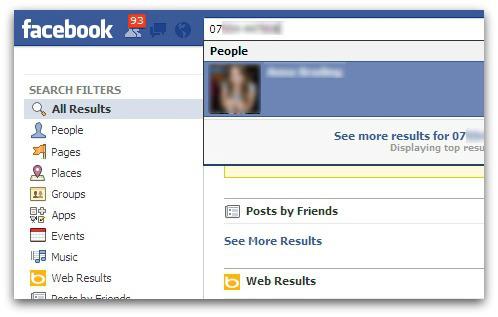 Numero Facebook