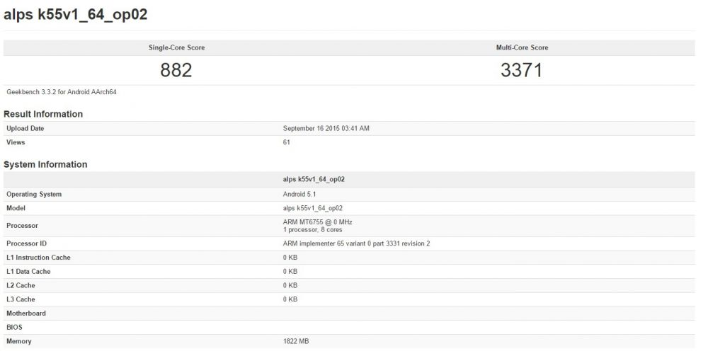 MediaTek - Helio P10 - benchmark - photo 1