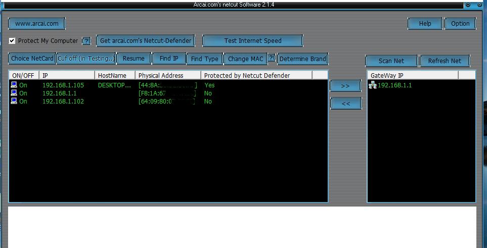 NetCut Windows