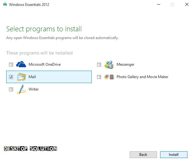Win10-install-mail-live-setup