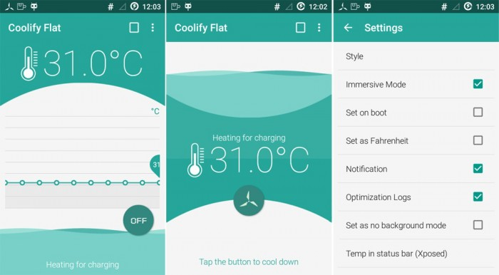 Coolify Flat - screen