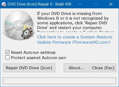 DVD Drive (Icon) - screen
