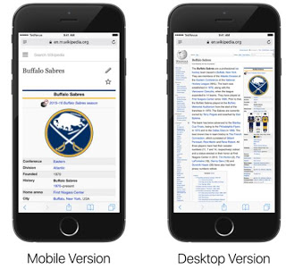 Wikipedia - Mobile & Desktop Version