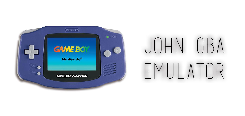 John GBA – GBA Emulator v 3 20 APK Download per Android